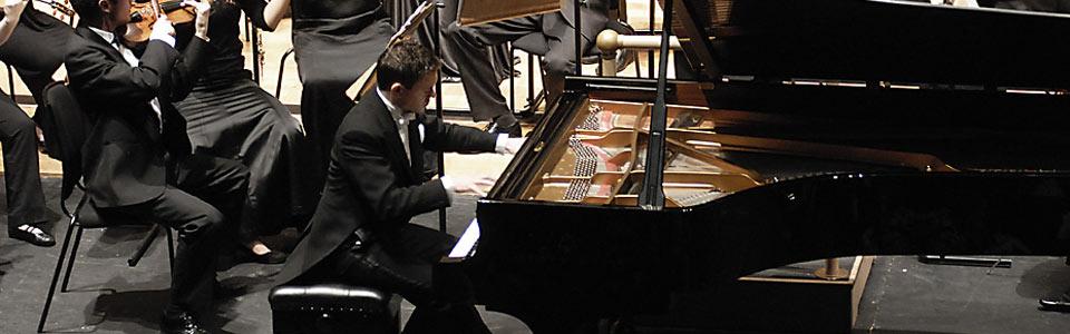 <i>&#8220;The brilliant pianist from London&#8230;&#8221;</i><b> Kleine Zeitung</b>