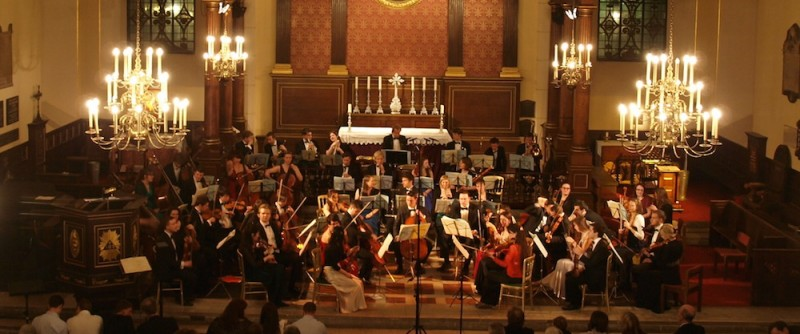 Firebird Orchestra performance at St Paul's Covent Garden